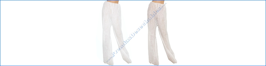 Pantalones desechables