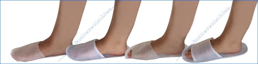 Zapatillas desechables
