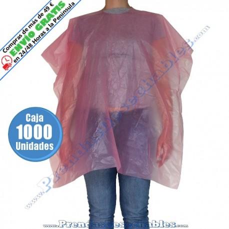 Capa de Tinte Polietileno Rosa - Frente - 1000