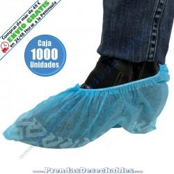 Cubrezapatos Antideslizante PP TNT Azul - 1000