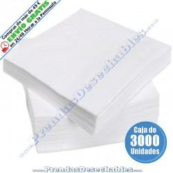 Toalla Spunlace de 20 x 30 cm Manicura - 3000
