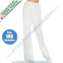 Pantalón Presoterapia PP TNT + PE Blanco - 100