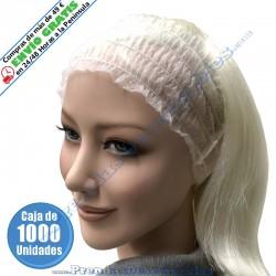 Diadema PP TNT Blanco - 1000