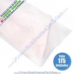 Sábana PP SMS 80 x 200 cm Blanco sin elástico - 175