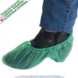 Cubrezapatos de Polietileno Verde