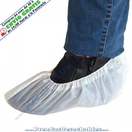 Cubrezapatos de Polietileno Blanco