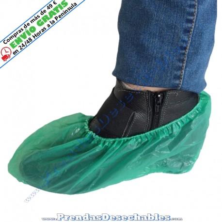 Cubrezapatos de CPE Verde