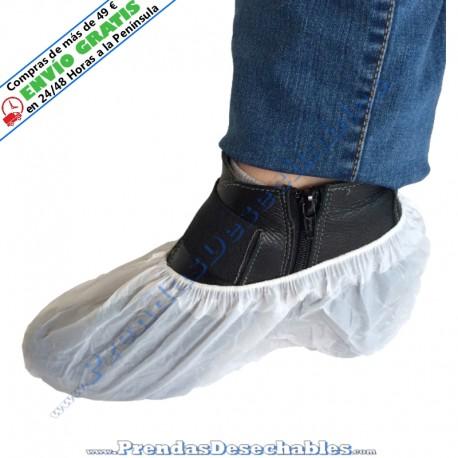 Cubrezapatos de CPE Blanco