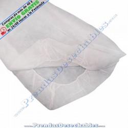 Sábana PP SMS 80 x 210 cm Ajustable Blanco
