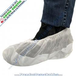 Cubrezapatos suela reforzada PP TNT + CPE Blanco