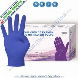 Guantes de Nitrilo Azul Purple Eco
