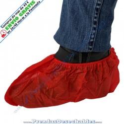 Cubrezapatos de PP TNT Rojo