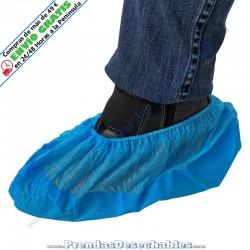 Cubrezapatos suela reforzada PP TNT + CPE Azul