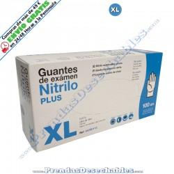 Guantes de Nitrilo Plus Azul