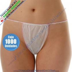 Tanga Dama Mini PP TNT Blanco - 1 - 1000