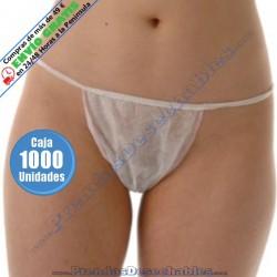 Tanga Dama Grande PP TNT Blanco - 1 - 1000