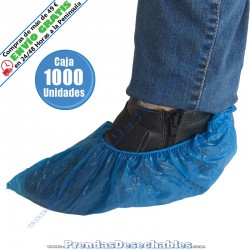 Cubrezapatos de Polietileno Azul - 1000
