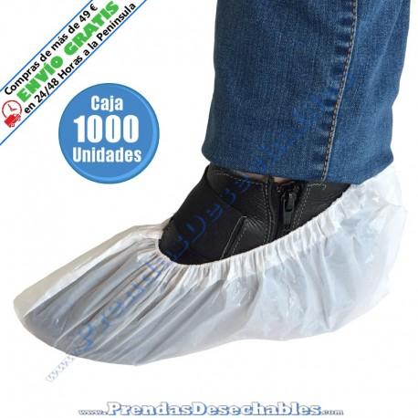 Cubrezapatos de Polietileno Blanco - 1000
