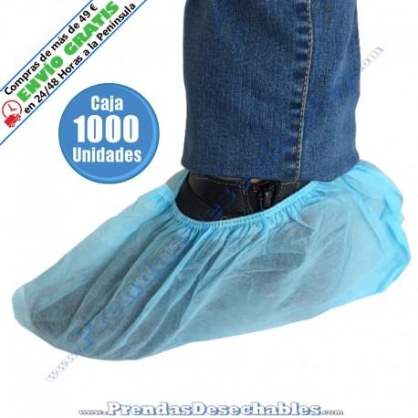 Cubrezapatos de PP TNT Azul - 1000