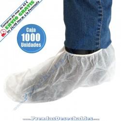 Cubrezapatos de PP TNT Blanco - 1000