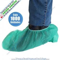 Cubrezapatos de PP TNT Verde - 1000