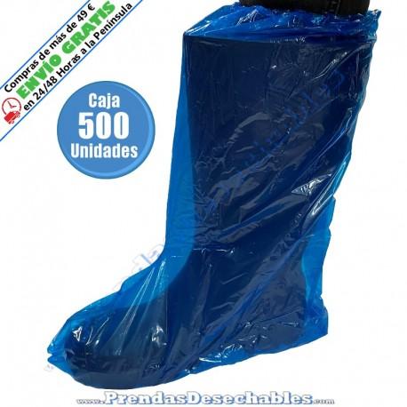 Cubrebotas de Polietileno Azul - 500