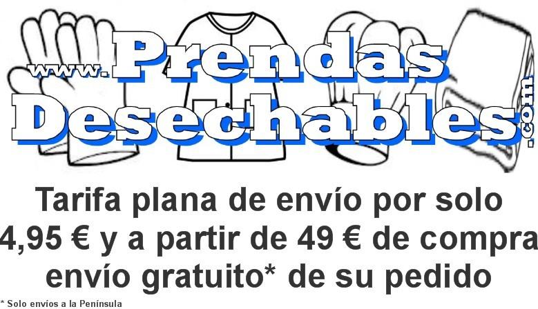 Tarifa plana de envío por solo 4,95 € y a partir de 49 € de compra, envío gratuito*!